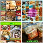 5 Sets of Freezer Meals