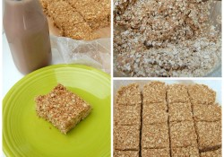 Chocolate No Bake Oatmeal Bars