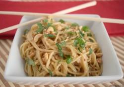 Saucy Sesame Peanut Noodles