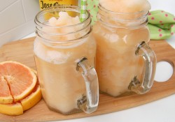 Citrus Tequila Slush Cocktail