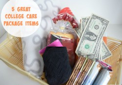 5 Great College Care Package Items