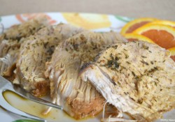 Slow Cooker Honey Citrus Pork Loin