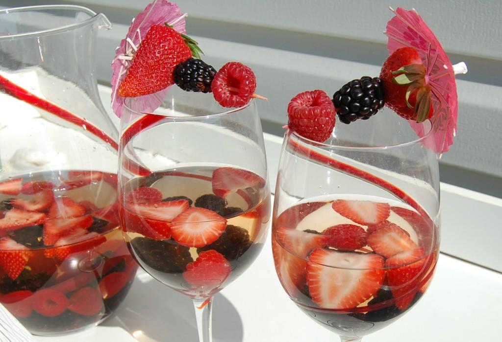 Berry Sangria | Who Needs A Cape?