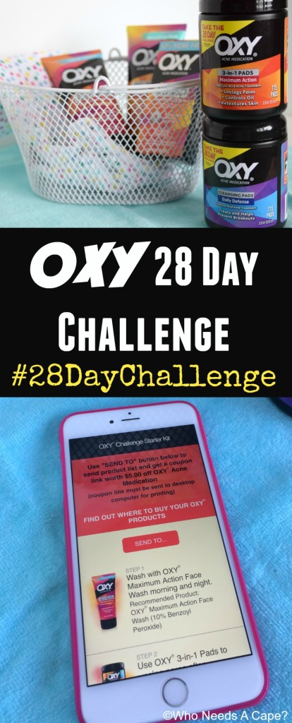 Back to school time is quickly approaching! Take the OXY 28 Day Challenge and easily have visibly clearer skin for prom and prom pictures.