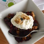 3 Ingredient Mixed Berry Cobbler