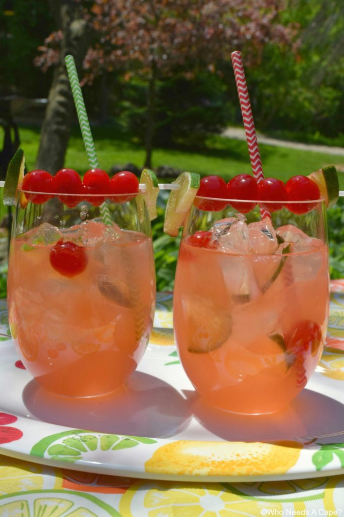 Make a big pitcher of our family favorite Cherry Limeade! Perfect for entertaining and summertime sipping, you'll love the sweet & tart combo of this beverage.