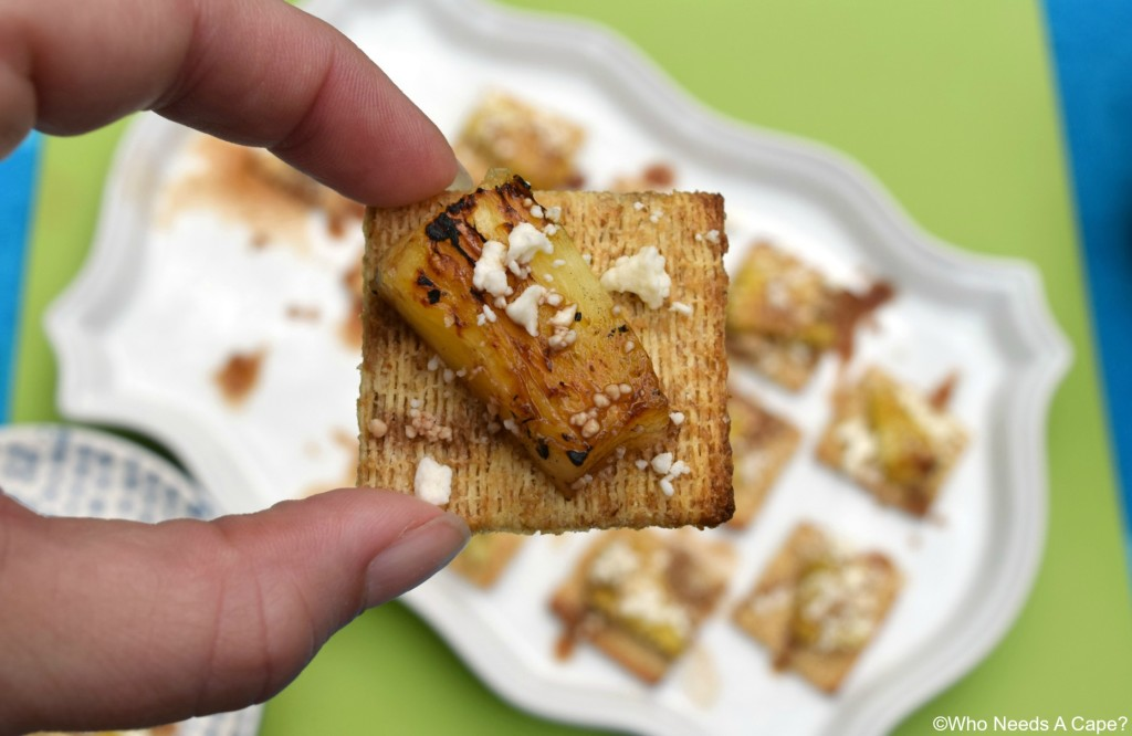 Need a yummy snack that's flavor packed? Balsamic Pineapple Feta Bites are a flavor sensation, perfect appetizer that's super simple to prepare.
