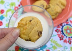Peanut Butter Cup Cake Mix Cookies