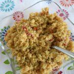 Quinoa & Pepper Pilaf