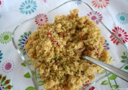 Quinoa & Pepper Pilaf