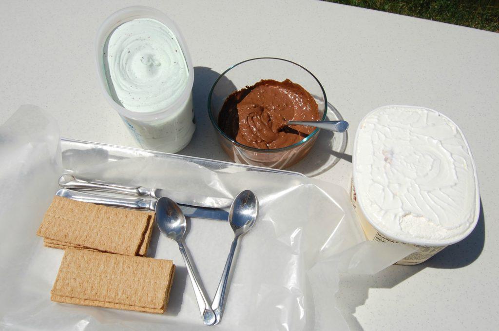 Easy Ice Cream Sandwich 1