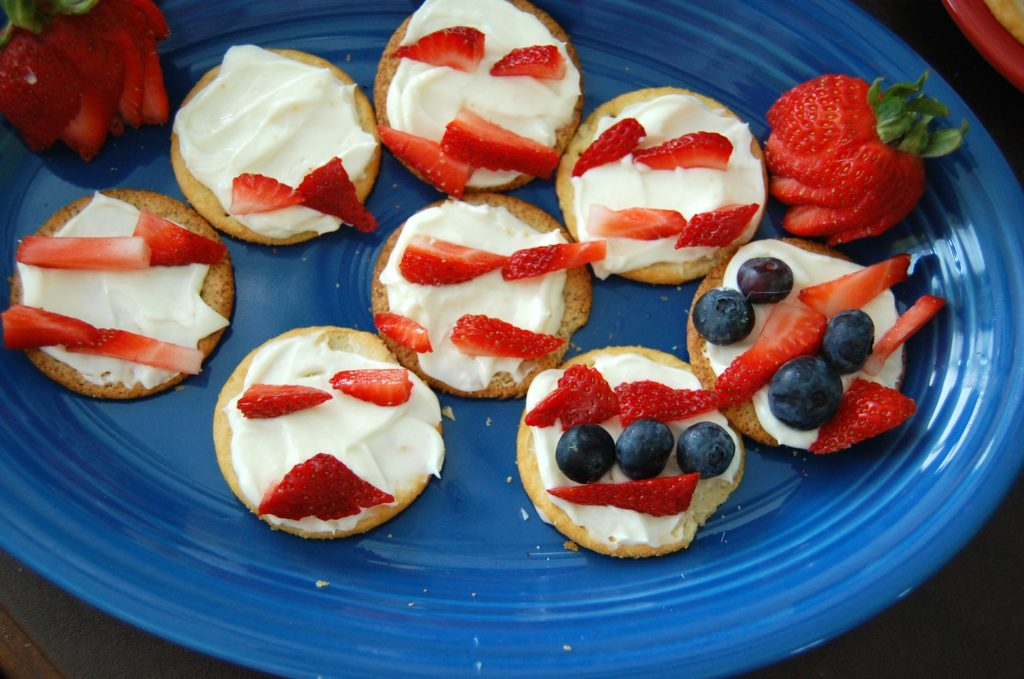Red White and Blue Snacks
