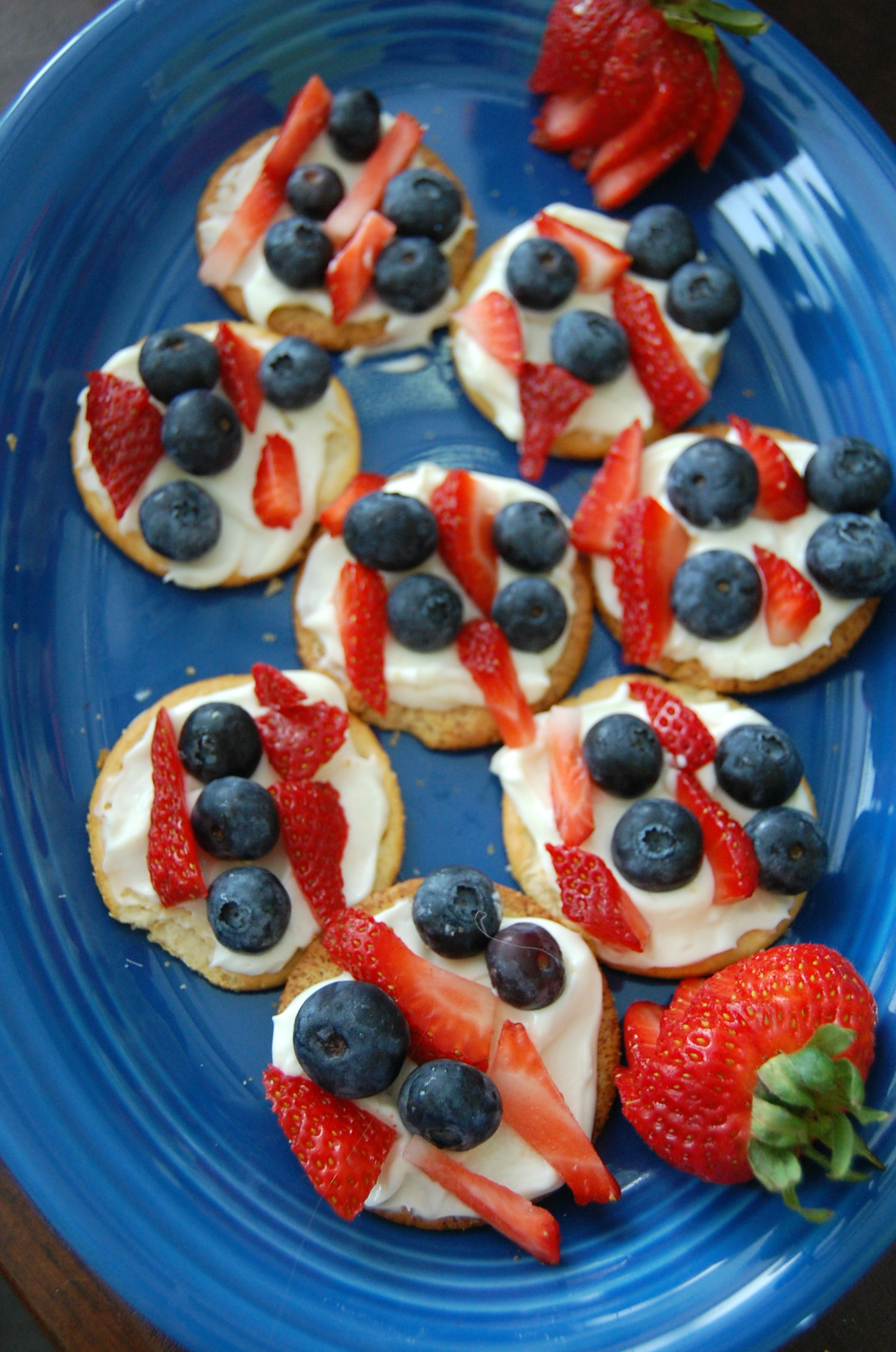 Red White & Blue Bites