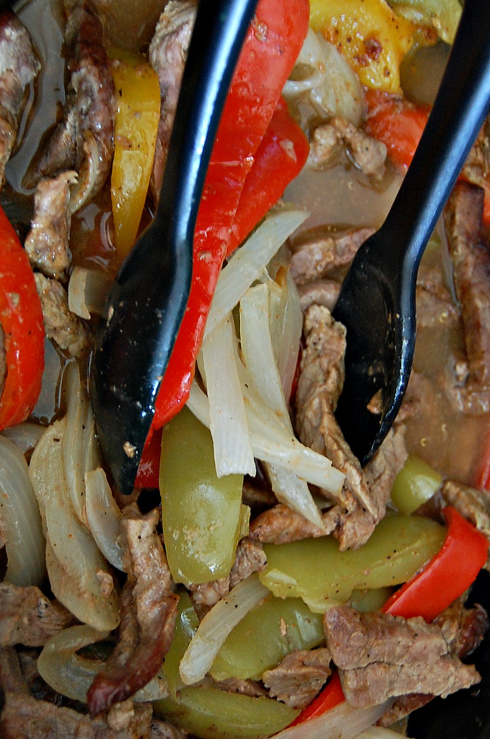 Slow Cooker Fajitas 5