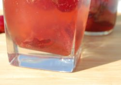 Cherry Bourbon Spritz
