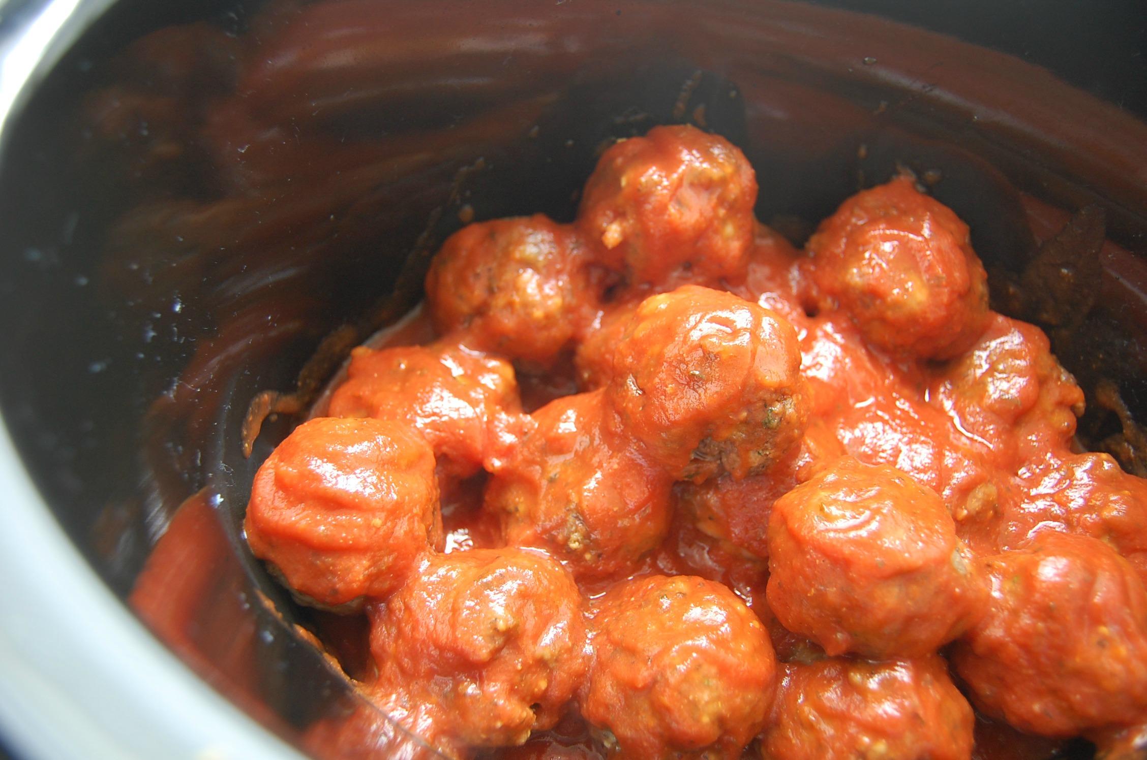 Slow Cooker Meatballs 4