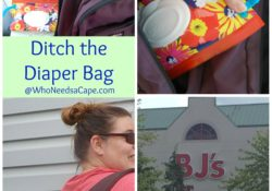 Ditch the Diaper Bag