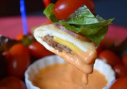Bacon Cheeseburger Stackers