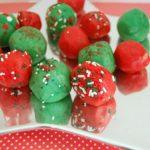 Jingle Balls ~ No Bake Sugar Cookie Balls