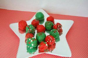 Jingle Balls No Bake Treats