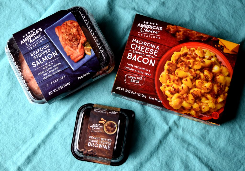 Don't get carry out or go through a drive thru! Dinner is made easy with America's Choice® Creations, so many great varieties to choose from.