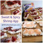 Sweet & Spicy Shrimp App