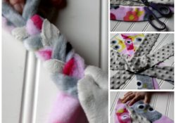 DIY Fleece Dog Toy