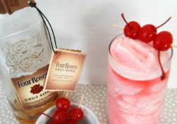 Cherry Bourbon Slush