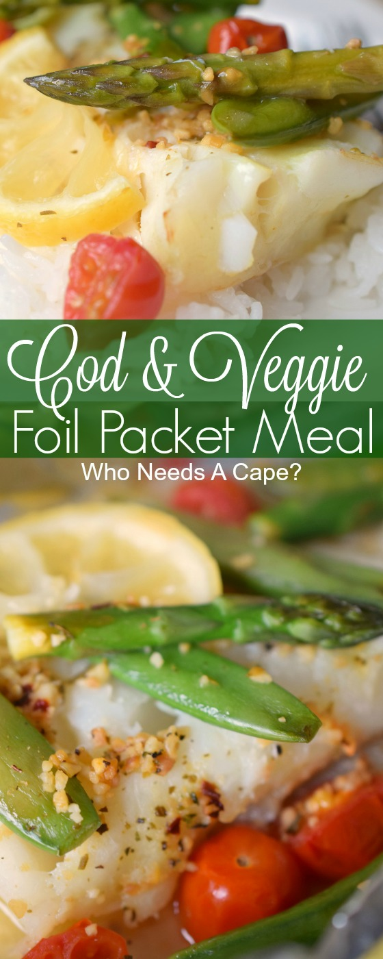 Cod & Veggie Packet Meals is an easy to prepare meal that delivers delicious flavors in no time. Perfect for entertaining, this meal is done in a flash.