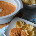 Slow Cooker 3 Cheese Bean Dip