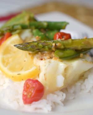 Cod & Veggie Packet Meals are an easy to prepare dinner that delivers delicious flavors in no time. Perfect for entertaining, this meal is done in a flash.