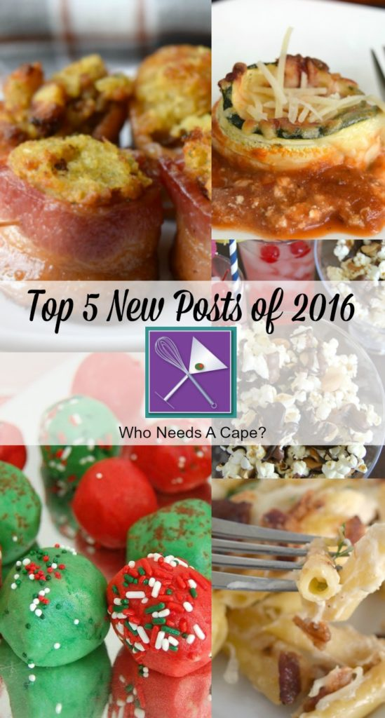 Debuting our Top 5 New Posts of 2016! After such a phenomenal food year we're sharing the newest posts that our followers loved!