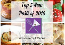 Top 5 New Posts of 2016
