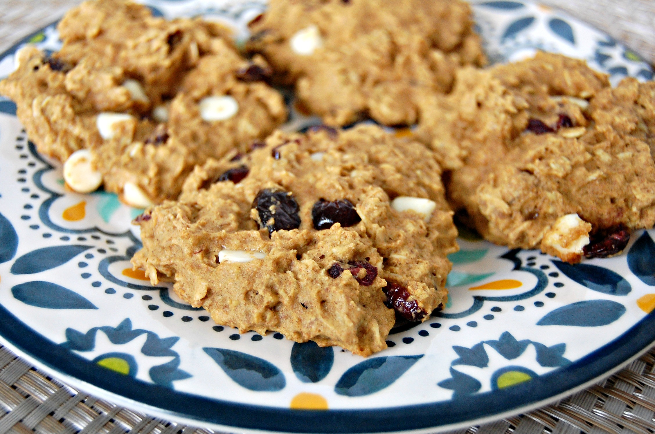 Cranberry White Chocolate Breakfast Cookie 3