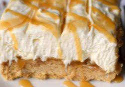 No Bake Caramel Cheesecake Dessert