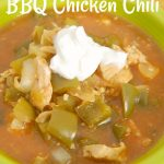 Slow Cooker BBQ Chicken Chili