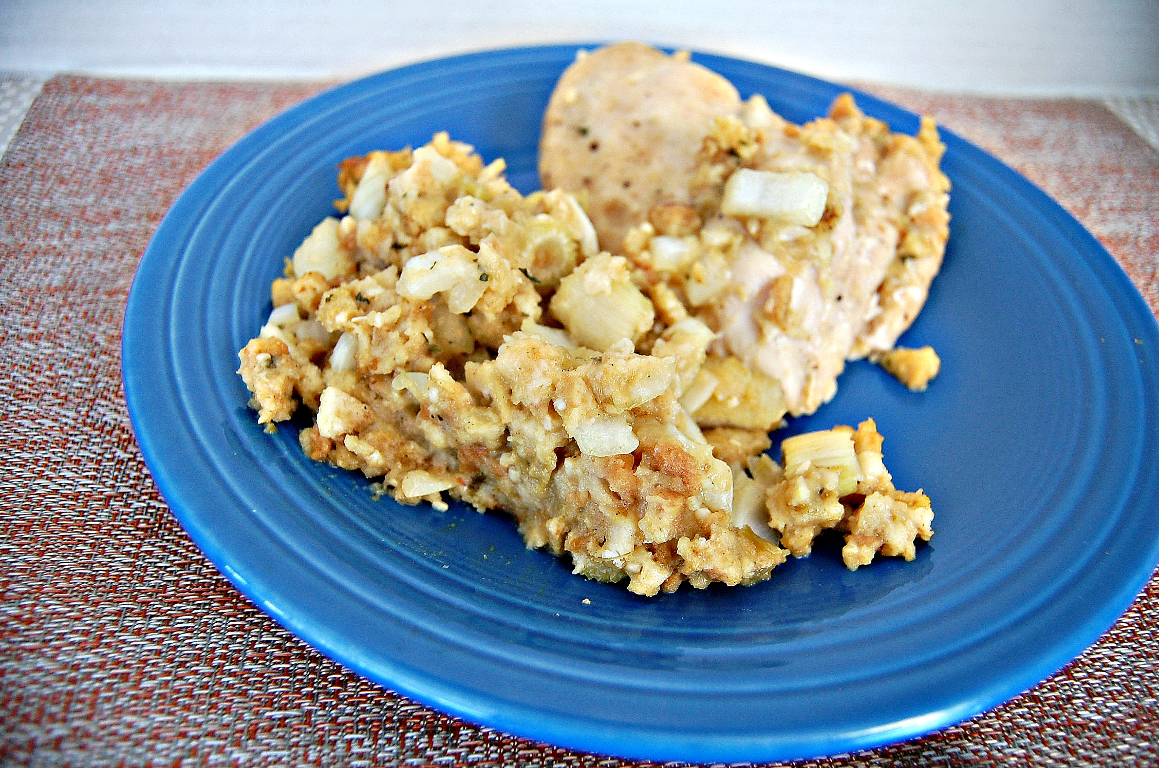 Crock Pot Chicken and Stuffing 1