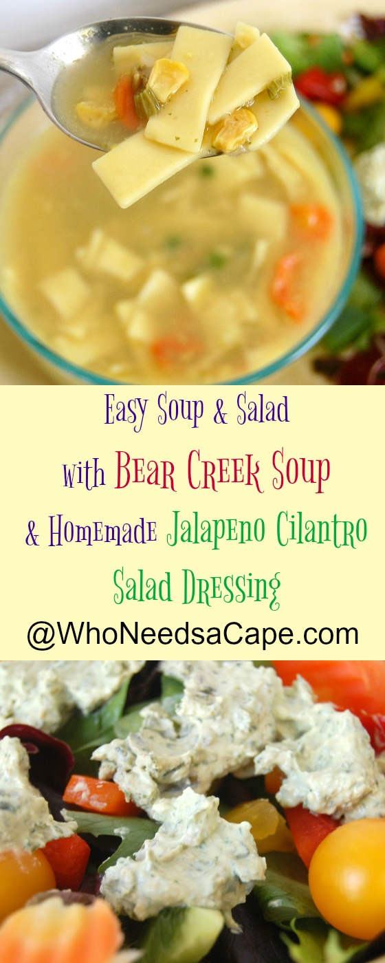 Delish Bear Creek Soup Makes Dinner Easy!