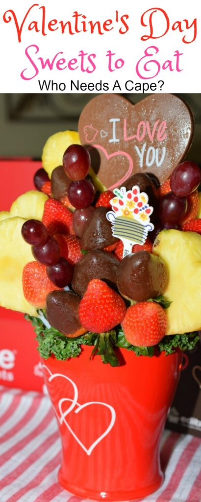 With the day of love fast approaching I'm going to suggest my favorite gift: some Valentine's Day Sweets to Eat from Edible Arrangements.