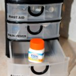 Travel Medicine Cabinet for RV Trips