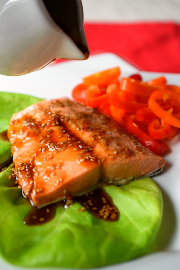 Dinner is on the table in no time with The Easiest Pressure Cooker Teriyaki Salmon. Full of flavor and easy to prepare, a fantastic meal!