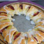 Cherry Lemon Crescent Ring