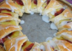Cherry Lemon Crescent Ring