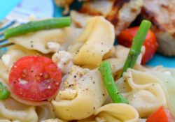 Asparagus Tortellini Pasta Salad