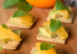 Make 'Scuit Happen with Orcadomintscuit by topping a TRISCUIT with avocado, navel orange & a spring of mint. You'll love the flavors this snack delivers.