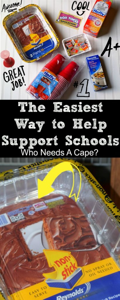 Not much time to volunteer or sell items to support your local school? I'm sharing The Easiest Way to Help Support Schools today, simple and beneficial!