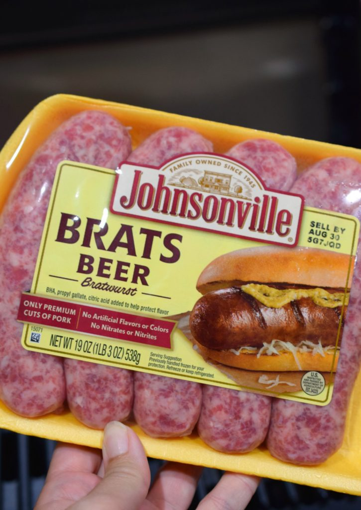 Add a delicious touch to your next BBQ by making Pasta Salad with Bratwurst. Who says Bratwurst has to be in a bun? Enjoy it in this great side dish.