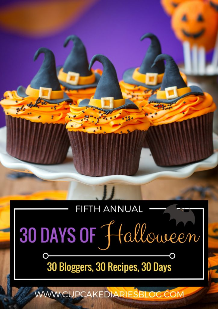 2017 Cupcake Diaries 30 Days of Halloween Main