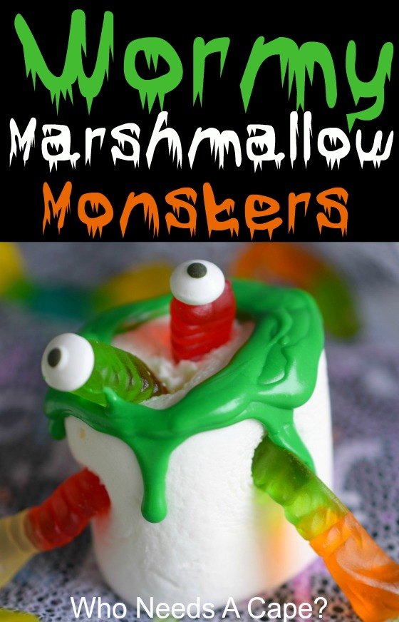 Wormy Marshmallow Monsters