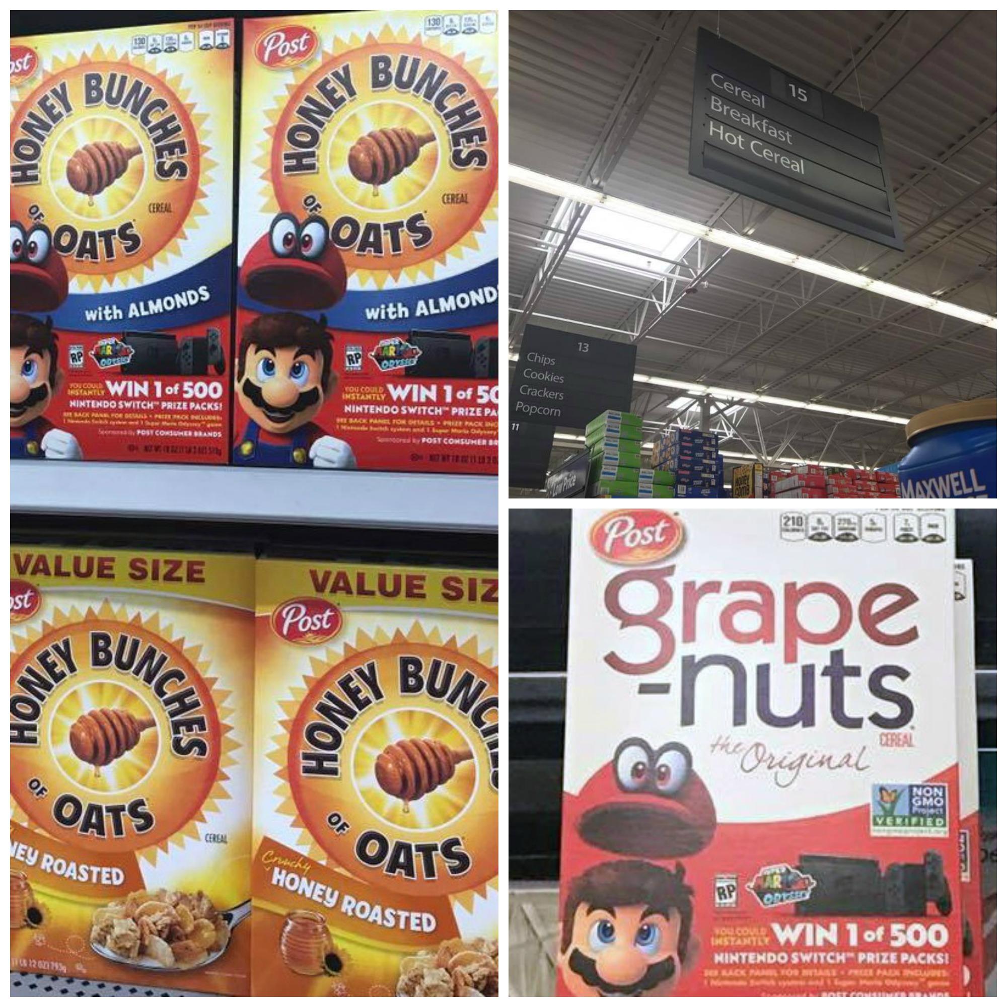Cereal Snack Mix Walmart